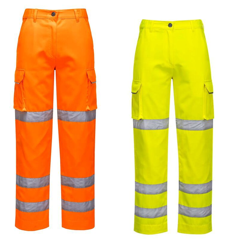LW71 Ladies Hi Vis Trousers
