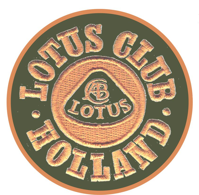 Lotus Club Holland Cloth Badge