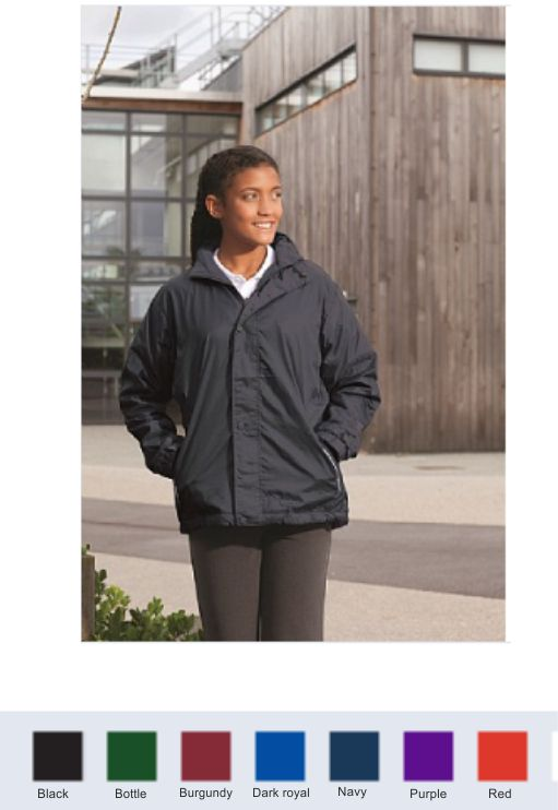 Blue Max Mistal childs reversible fleece