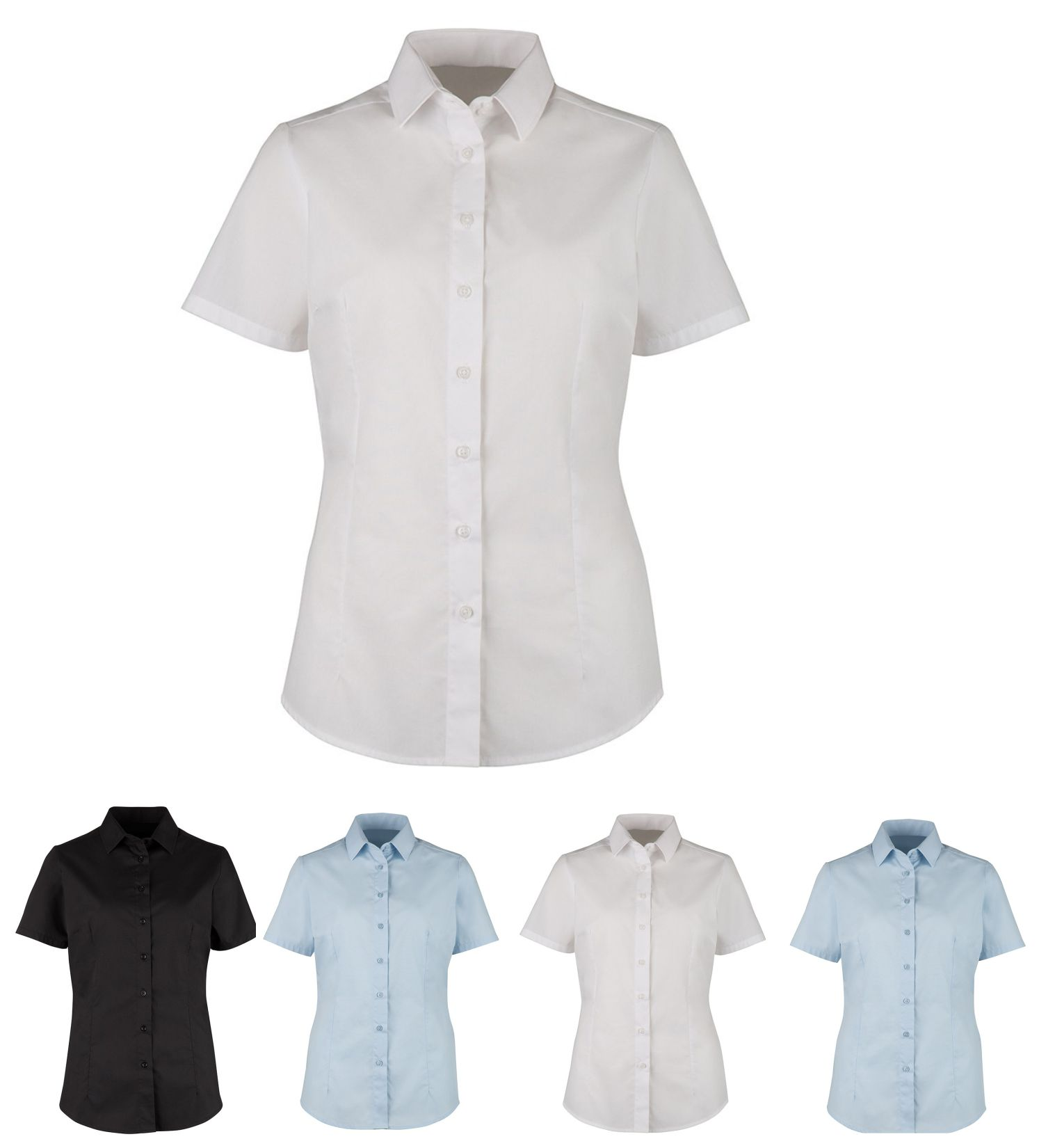 NF76 Women's Contemporary Short Sleeve Blouse