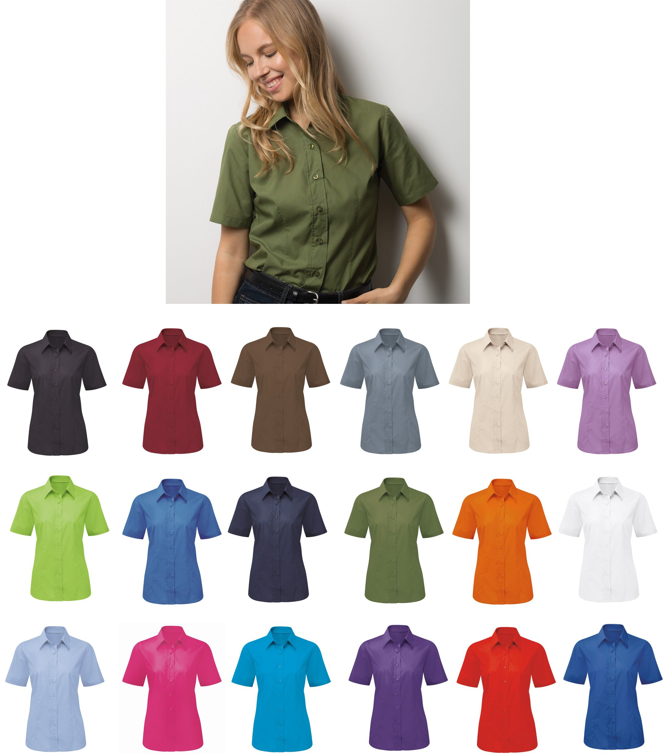 NF91 Womem's Easycare short sleeve shirt