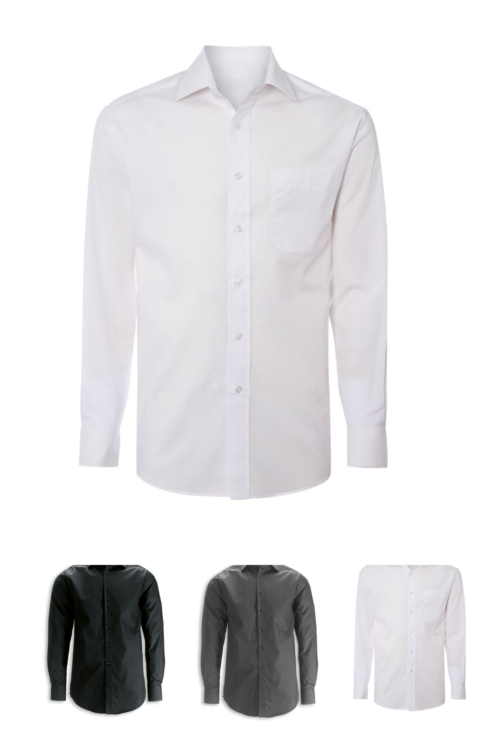 NM49 Men's Long Sleeve Stretch Shirt