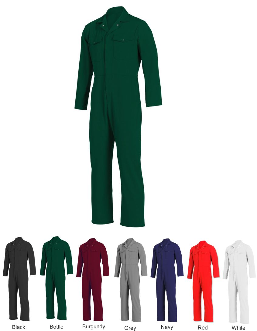 NU102 Essential Zip Front Coverall
