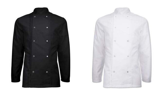 NU168 Long Sleeved Chefs Jacket