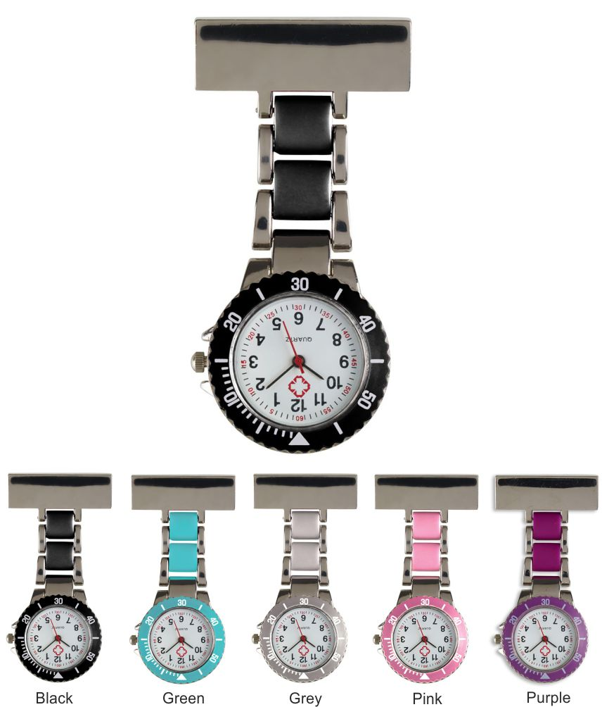 NU98 Metal Fob Watch