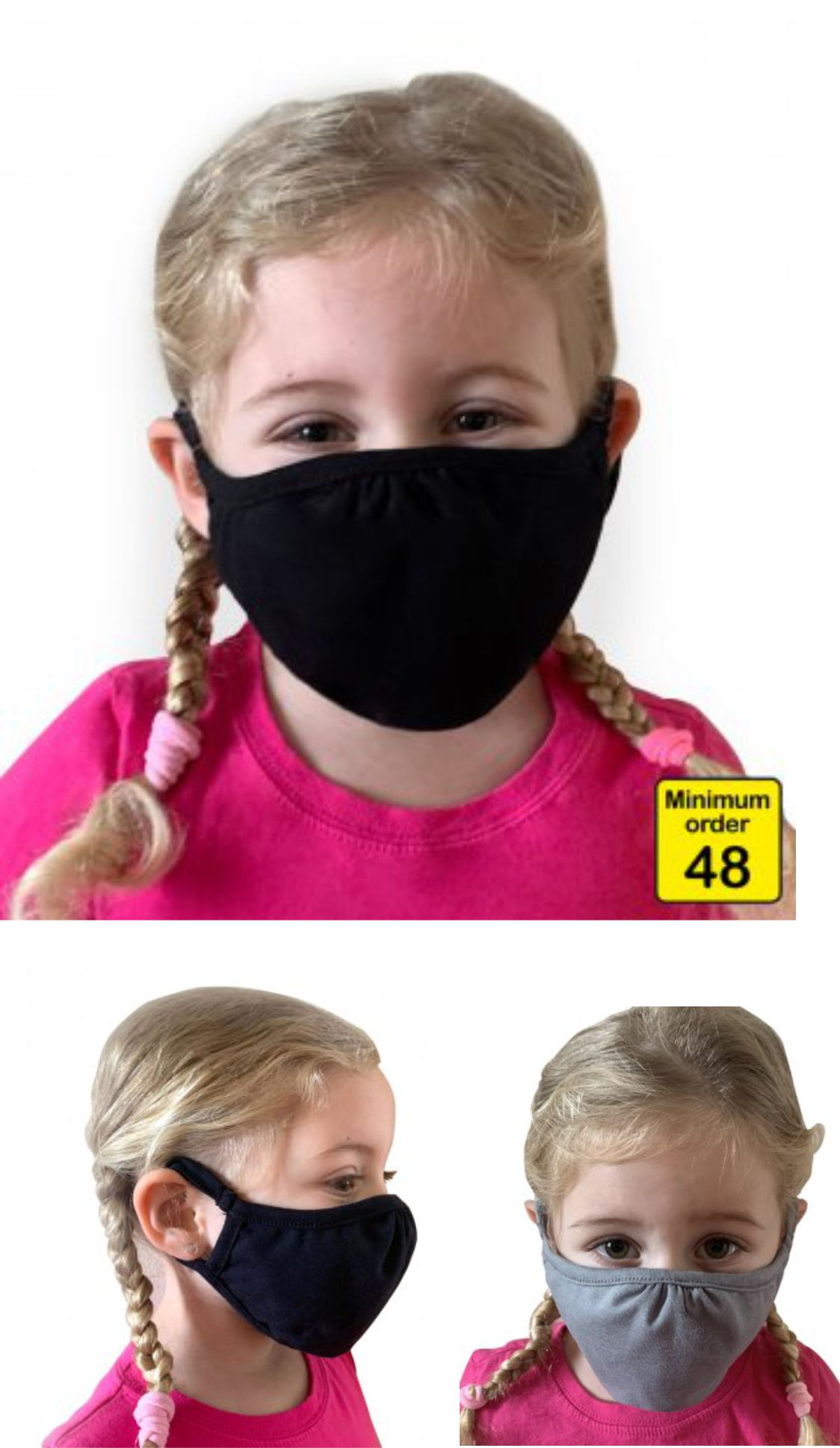 NX101 Next Level Kids Eco Performance Face Mask (pack of 48)