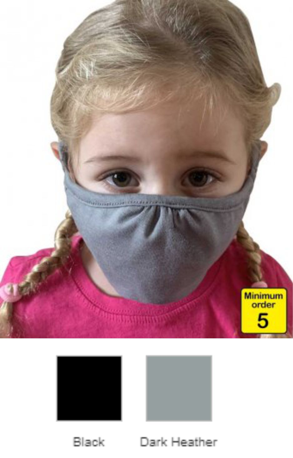 NX1015 Next Level Kids Eco Performance Face Mask
