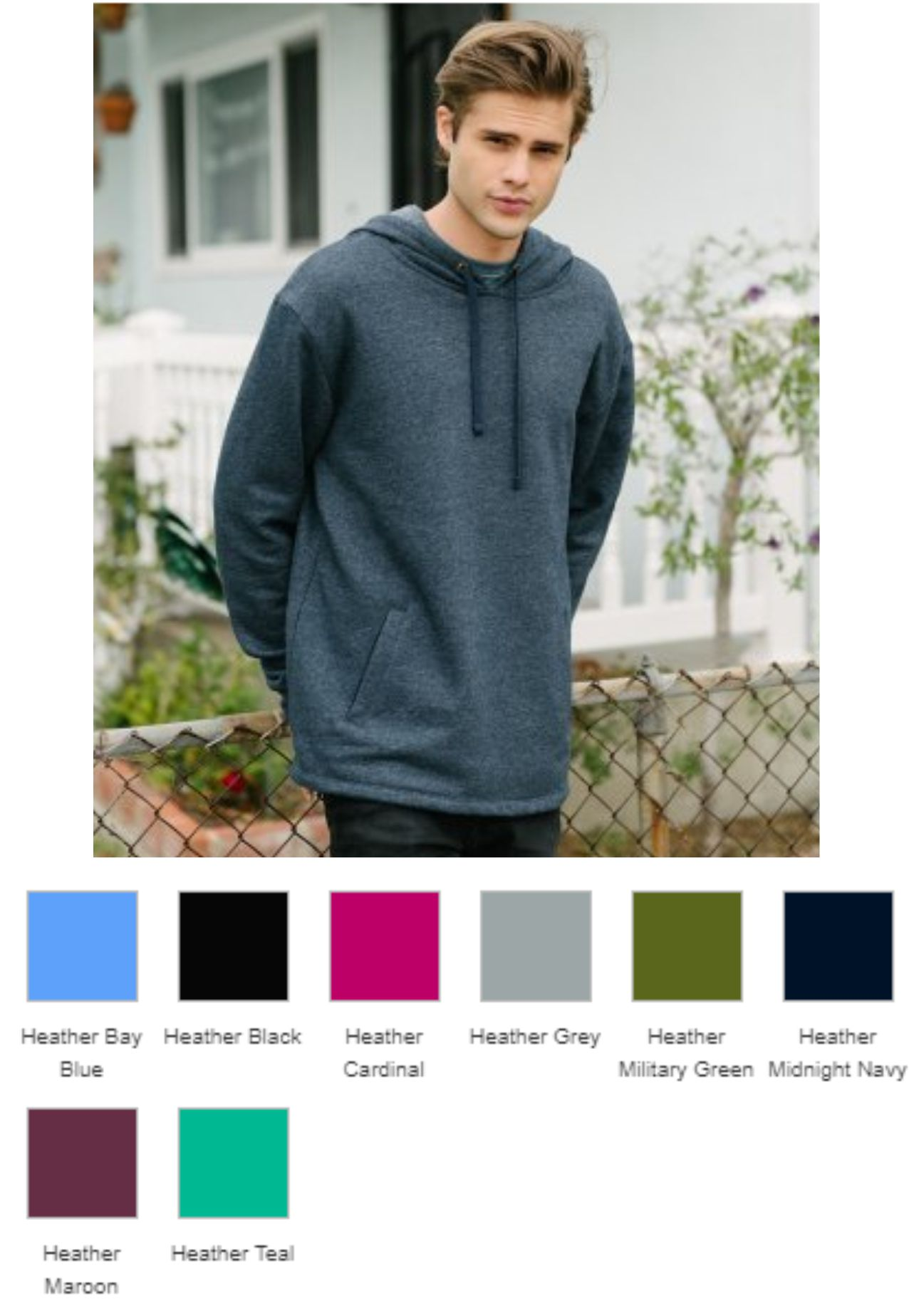 Nest Level NX9300 Unisex PCH Pullover Hoodie