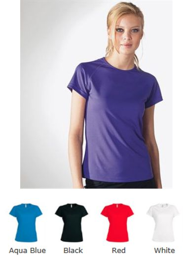 Proact PA439 Ladies Sports Tee