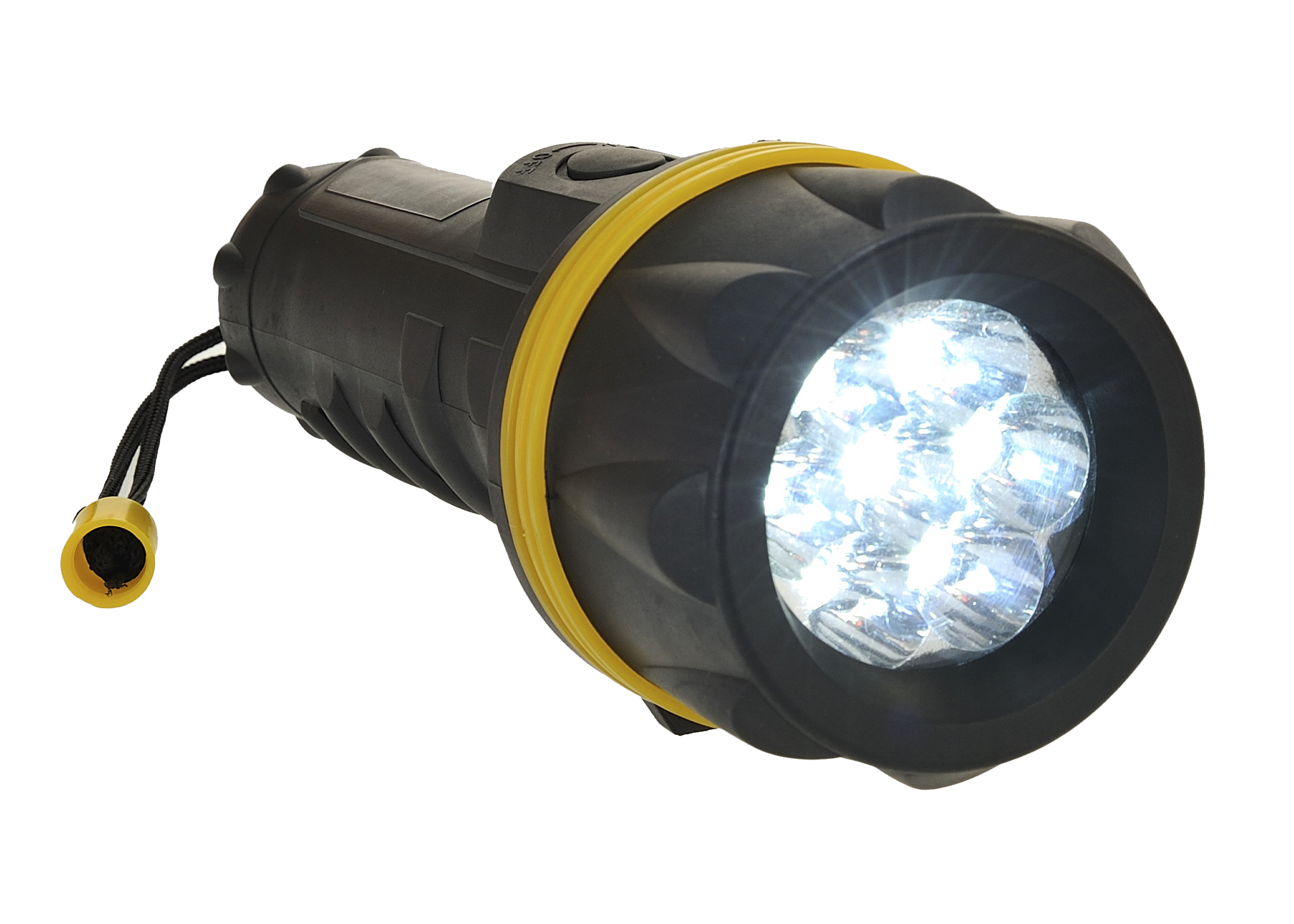 PA60 7 LED Rubber Torch
