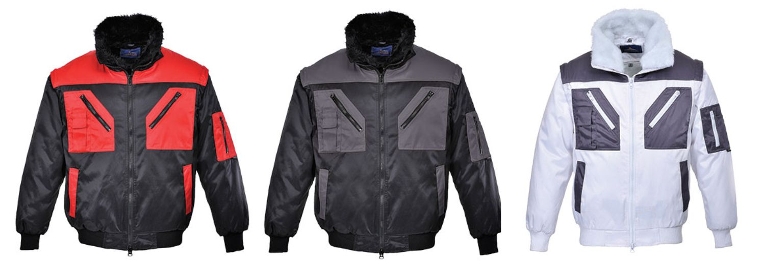 PJ20 Portwest Two Tone Pilot Jacket