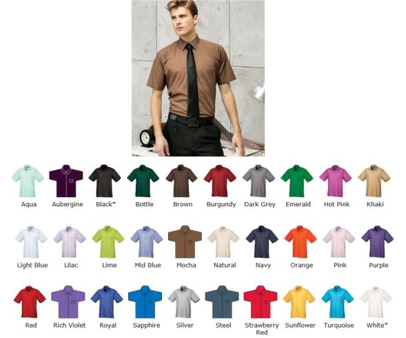 Premier PR202 short sleeve formal shirt