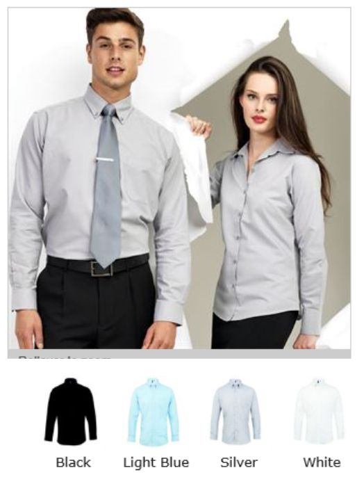 Premier PR234 Signature Long Sleeve Oxford Shirt