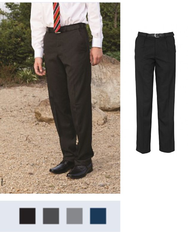 Banner Plymouth Senior Pleat Front Trousers