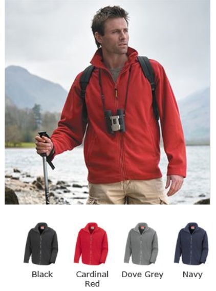 Result RS115M Micro Fleece Horizon jacket