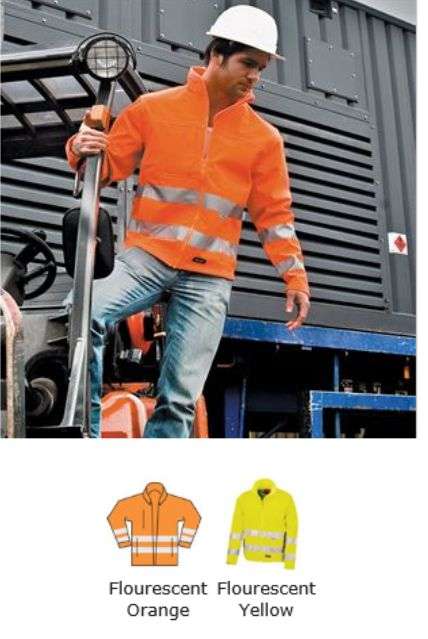 Result RS117 Neon Softshell Jacket