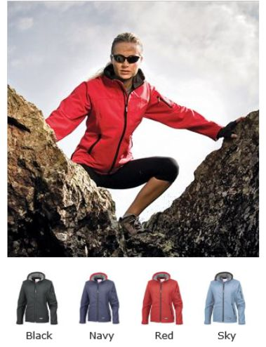 Result RS122F La Femme Soft Shell Jacket