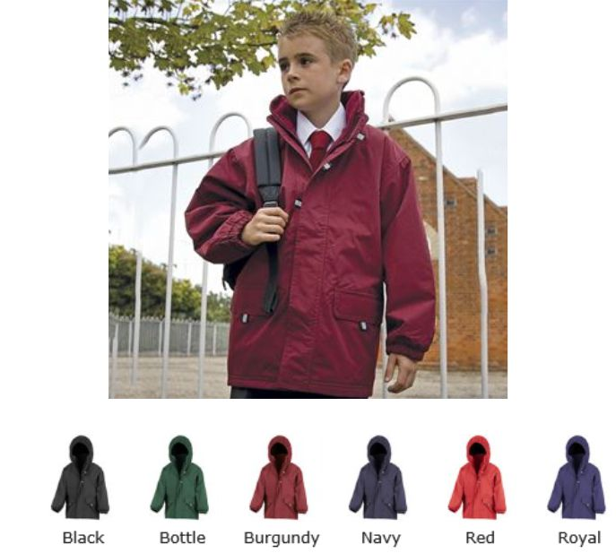 Result RS150B Rugged Stuff Junior Long Lined Coat