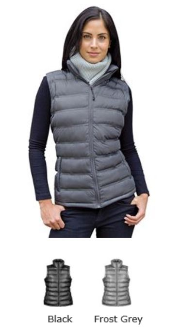 RS193F Result Ladies Ice Bird Padded Gilet