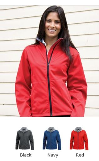Result RS209F Ladies Core Soft Shell Jacket