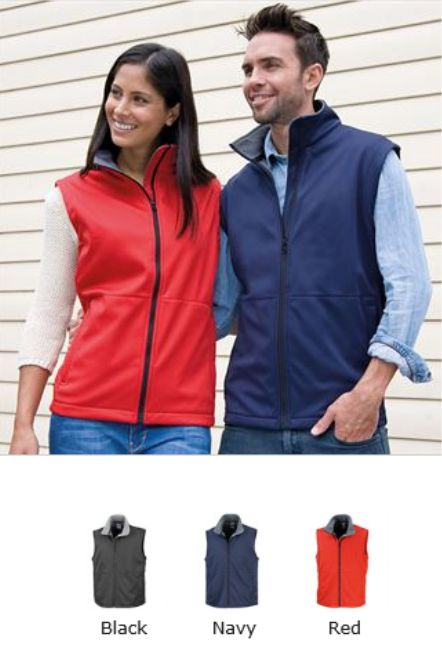 Result RS214 Core Soft Shell Bodywarmer