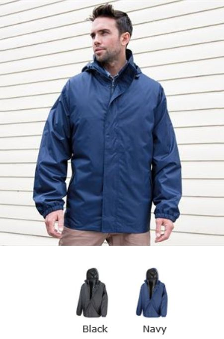Result RS215 Core 3 in 1 jacket with Quilted Bodywarmer