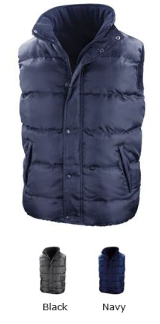 Result RS223 Core Nova Lux Padded Bodywarmer