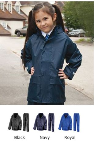Result RS225B Kids Core Rain Suit
