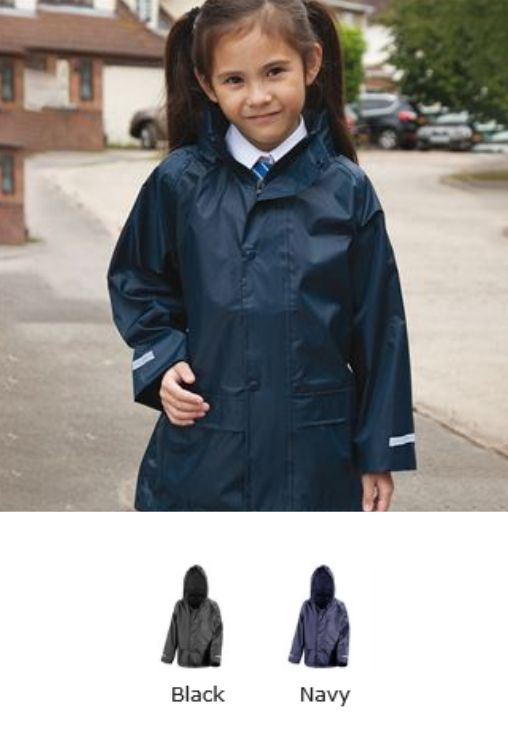 Result Core RS227B Junior Waterproof Over Jacket