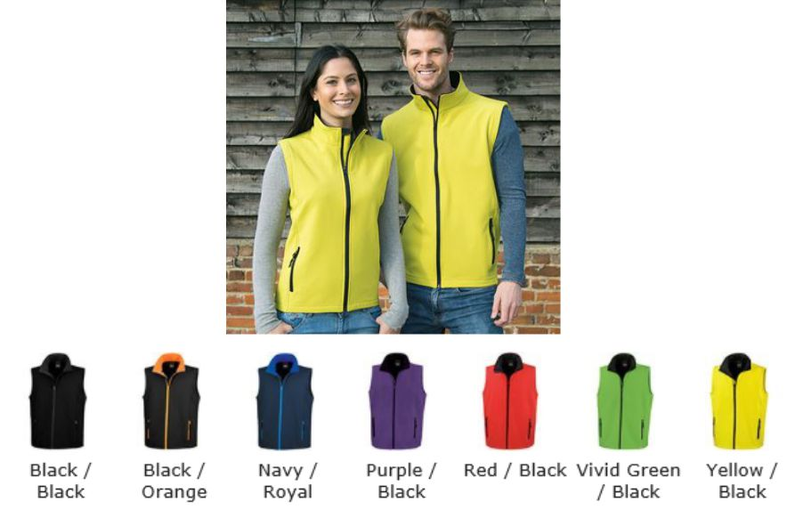 Result RS232F Ladies Printable Softshell Body Warmer