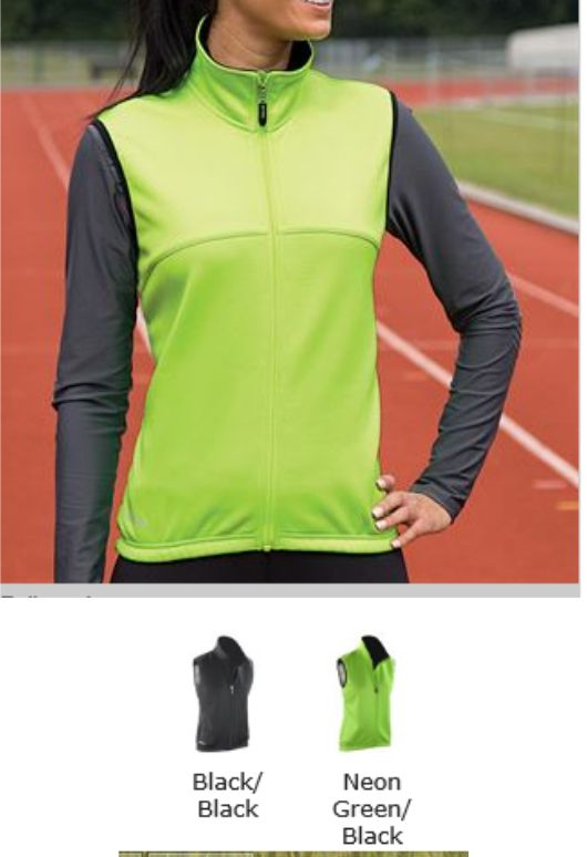 Spiro SR262F Ladies Airflow Gilet