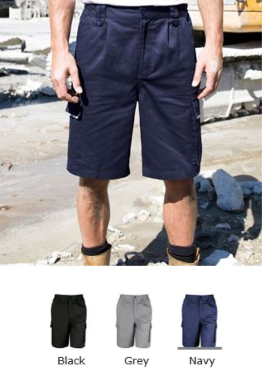 Result Work-Guard RS309 Action Shorts