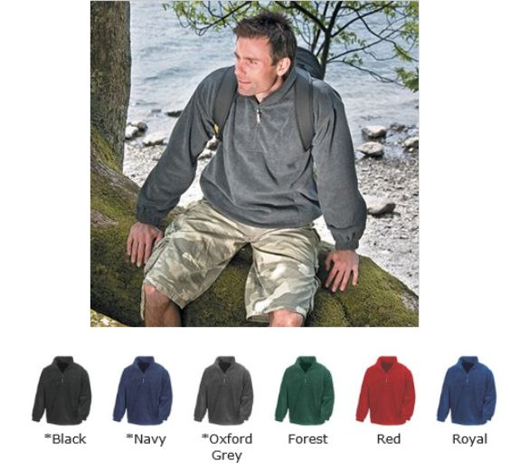 Result RS33 Active 1/4 zip Fleece Top