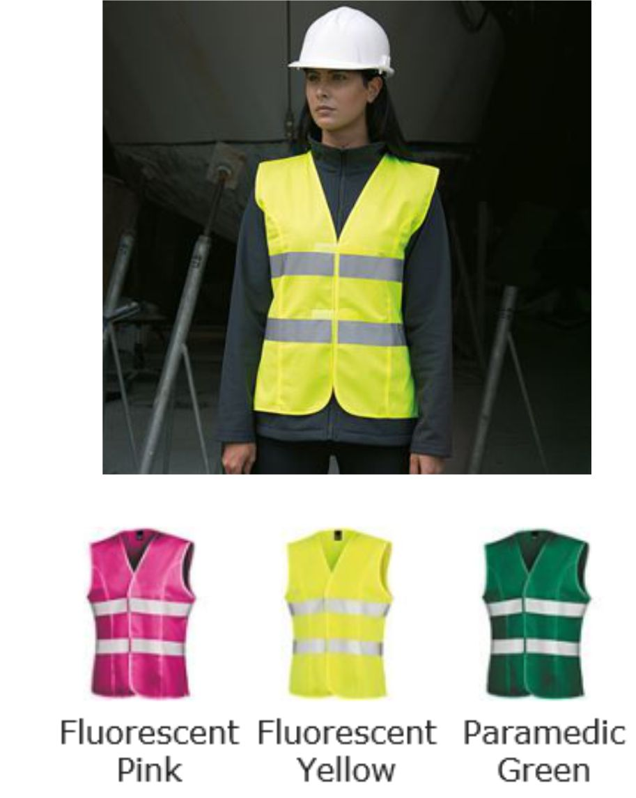 Result R334F Work-Guard Ladies Hi Viz Tabard