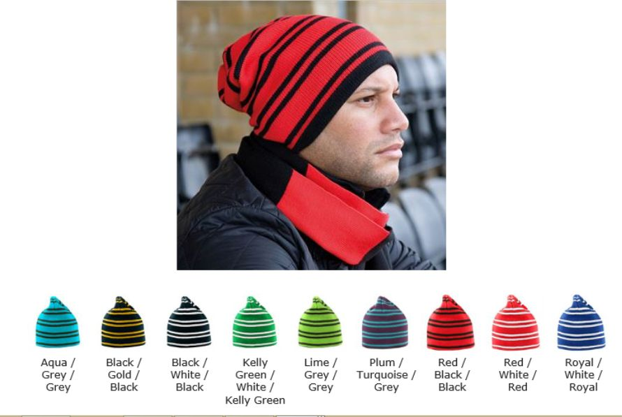 Result RS354 Team Reversible Beanie