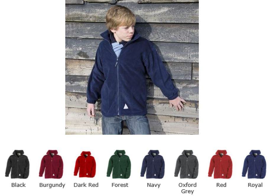 Result RS36B Junior Active Fleece Jacket