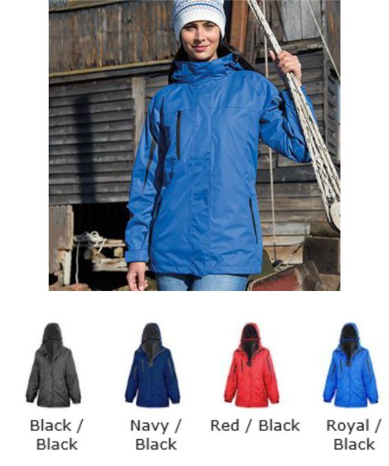 Result RS400F Ladies3 in 1 Softshell Journey Jacket