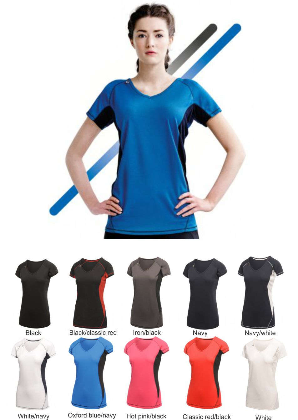 Regatta RA002 Ladies Bejing Tee Shirt