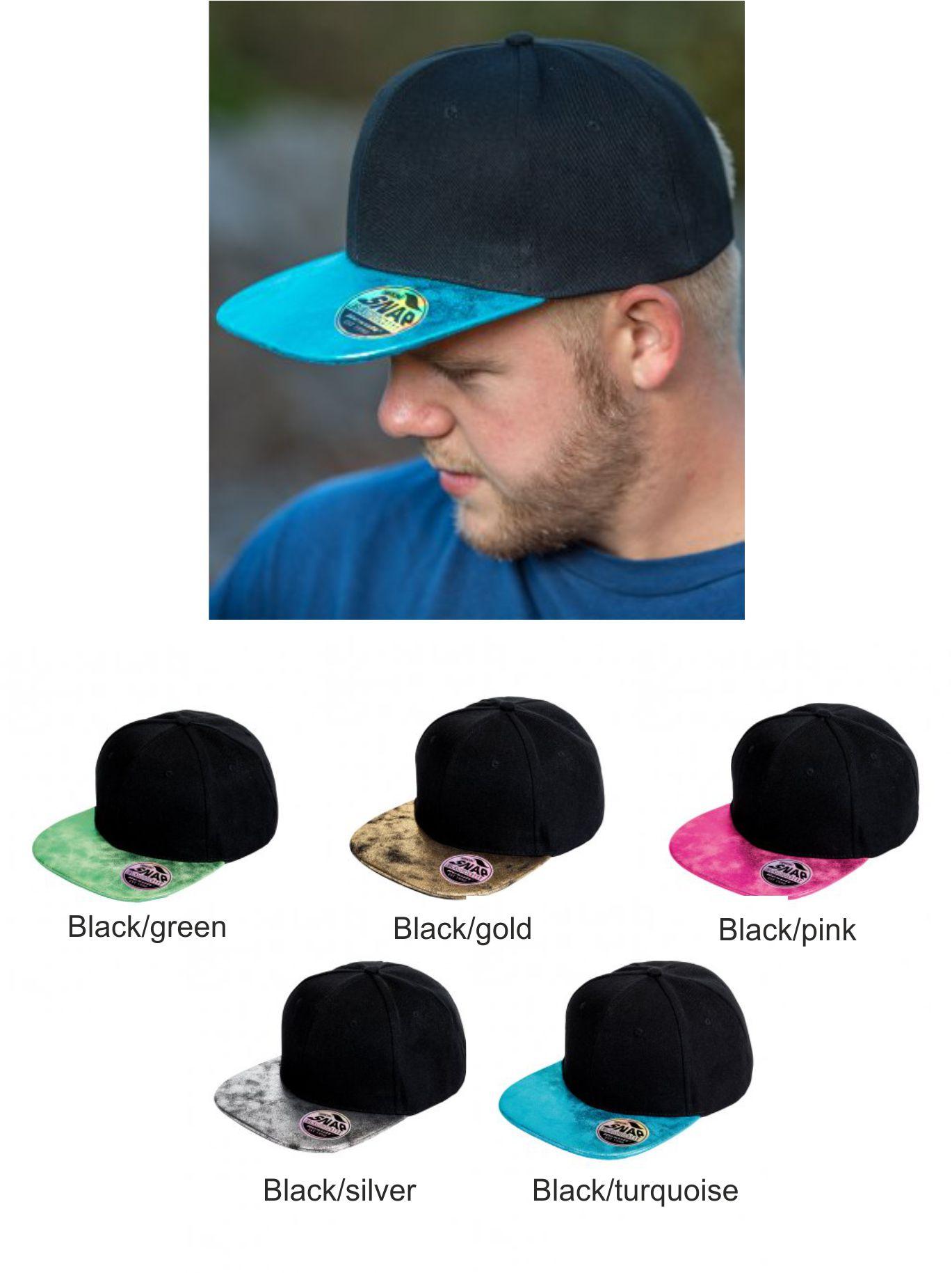 687a8302595 RC087 Result Headgear Bronx Glitter Snapback Cap - £4.08   Ark ...