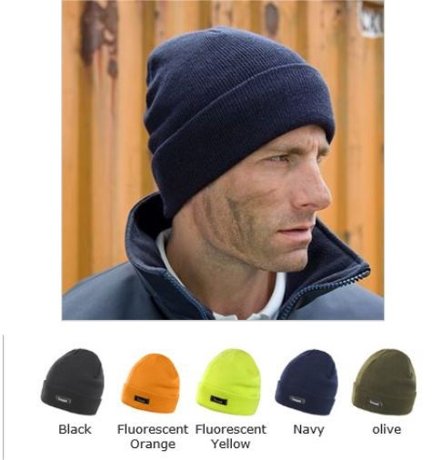 5e5579027e3 Result RC133 Lightweight Thinsulate Hat - £3.99   Ark Trading ...