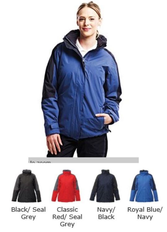 Regatta RG086 Ladies Defender III 3 in 1 Jacket