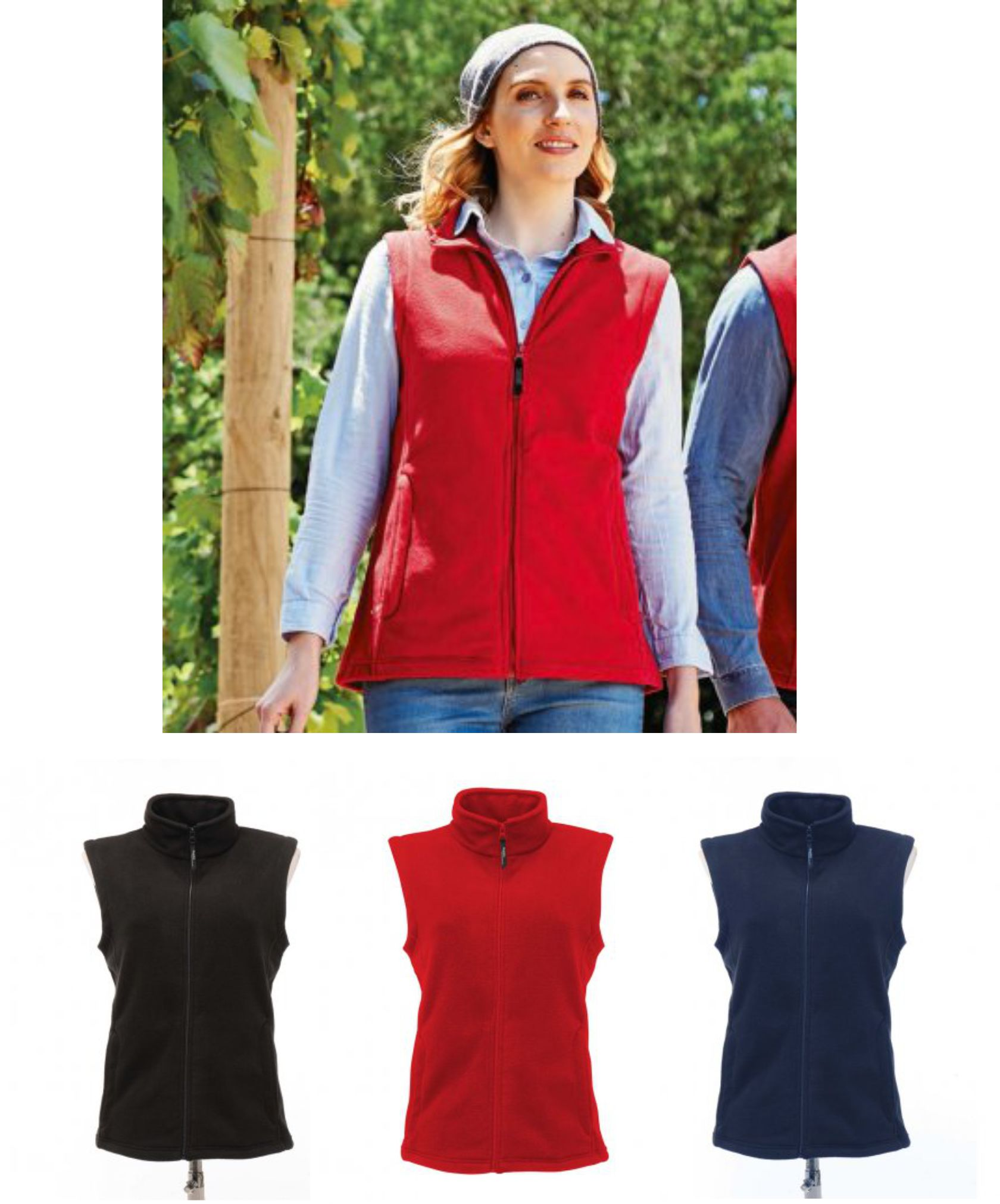 Regatta RG116 Ladies Microfleece Bodywarmer