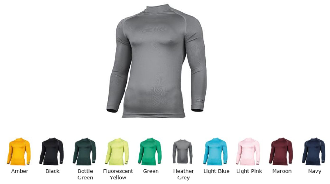 Rhino RH001 Long Sleeve Base Layer