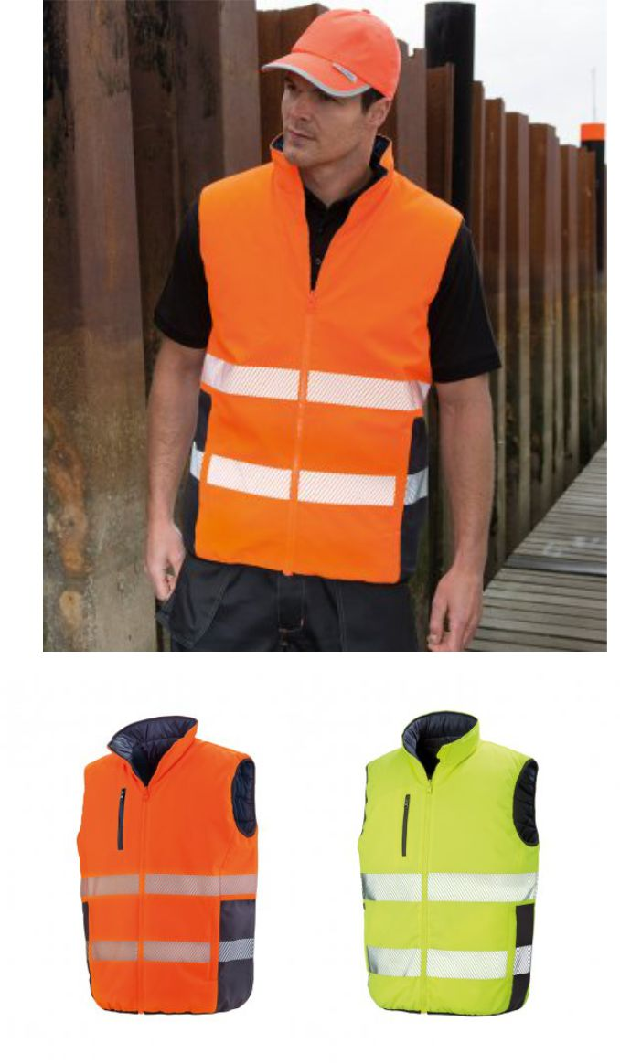 RS332 Result Safe-guard Reversible Soft Gilet