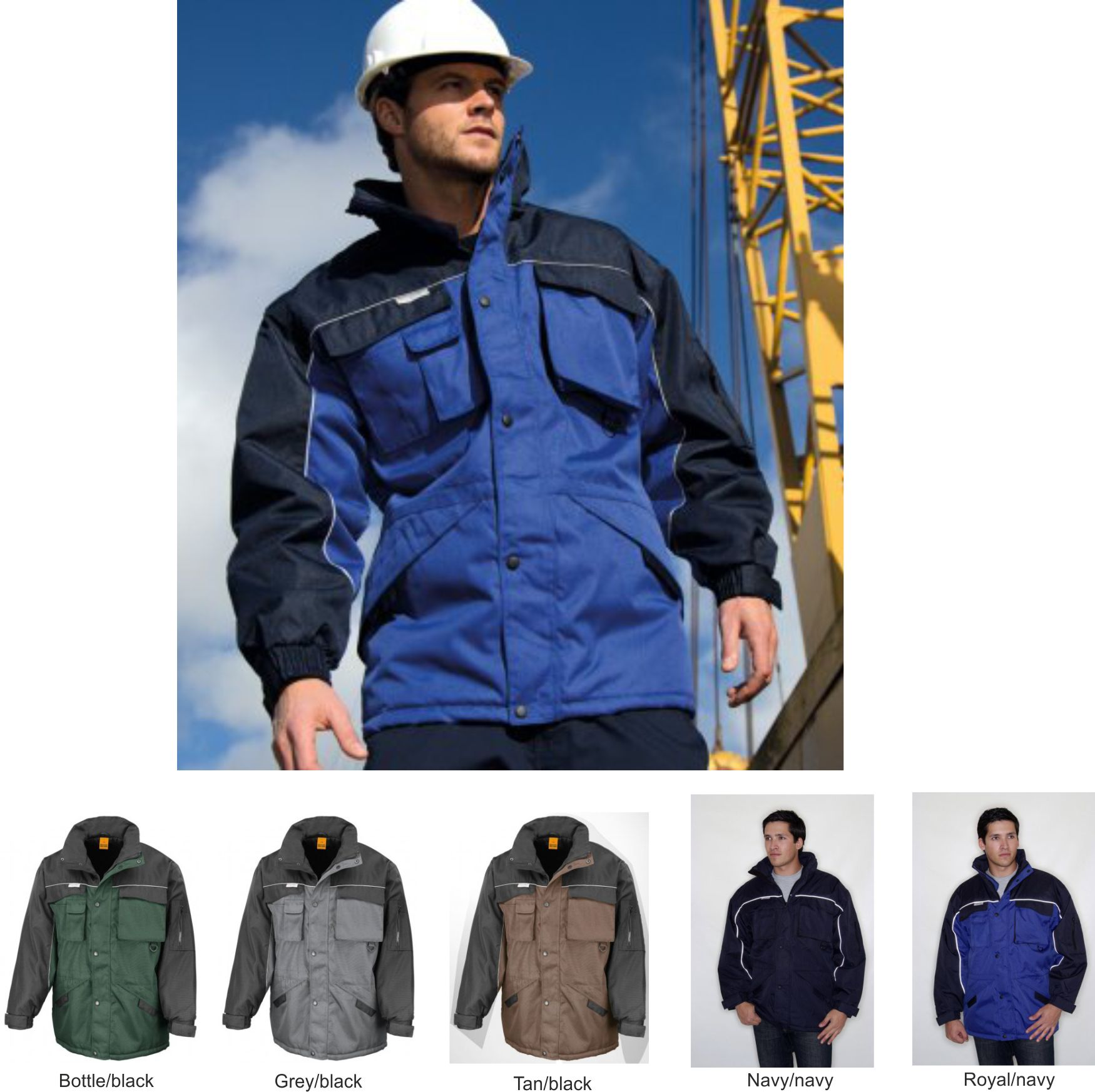 Result RS72 Work-guard Heavy Duty Combo Jacket