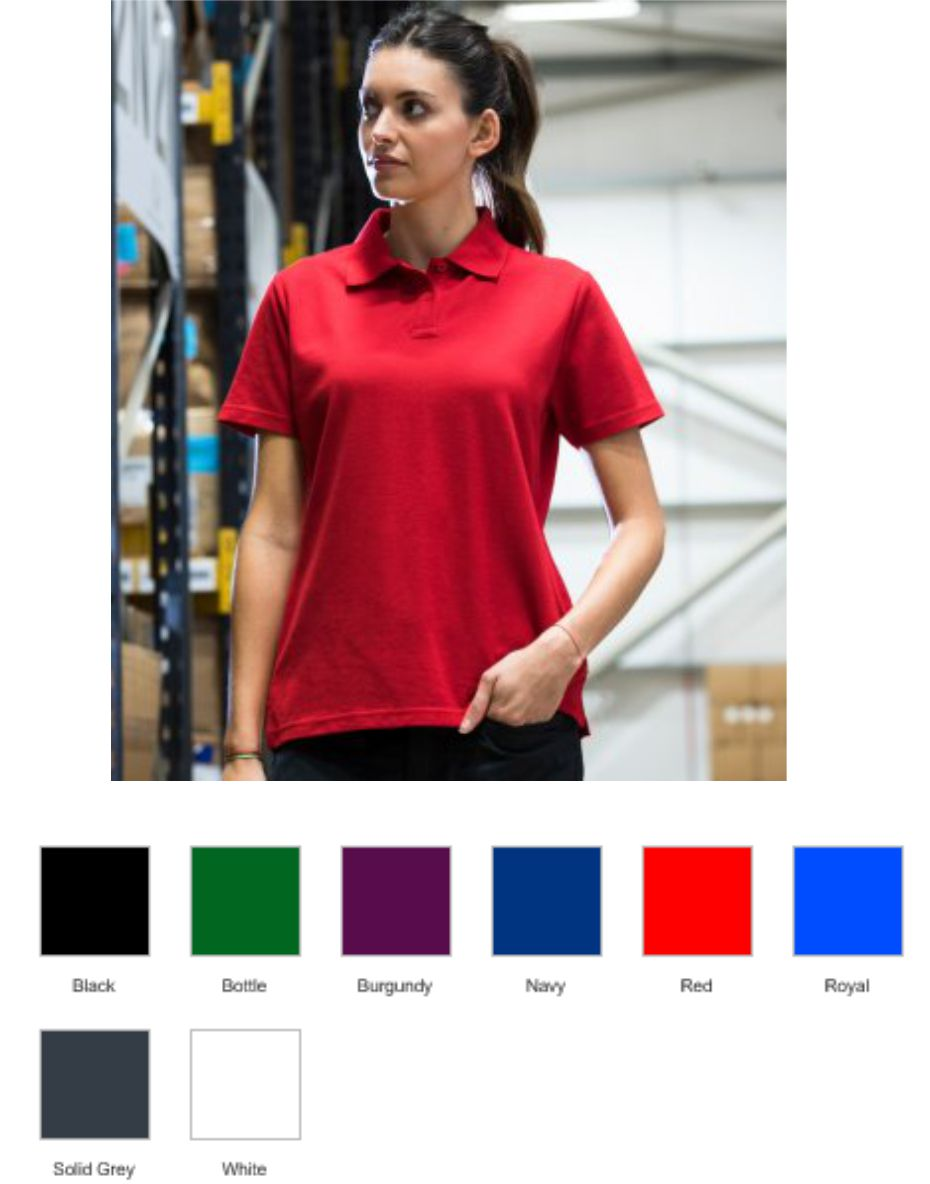 RX105F Pro RTX Ladies Pro Polyester Polo Shirt
