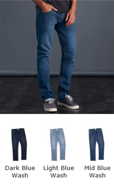 So Denim SD01 Denim Men's Leo Straight Jeans