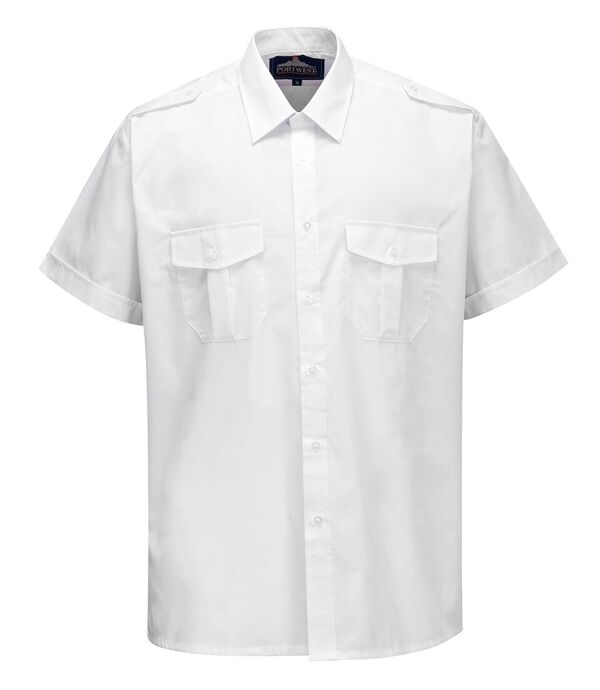 S101 Portwest Short sleeve Pilot Shirt