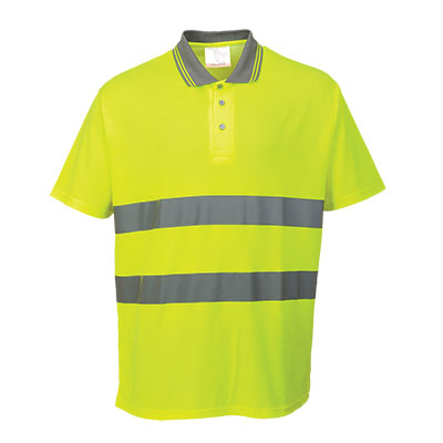 S171 Cotton Comfort Hi Vis Polo Shirt