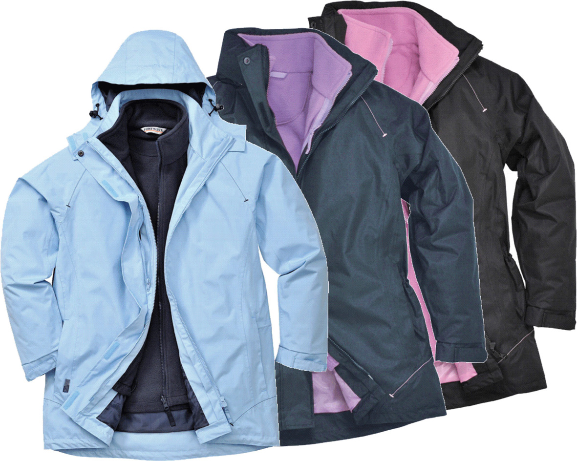 S571 Elgin Ladies 3 in 1 Jacket